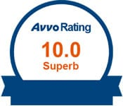 Top Rated Attorney on Avvo